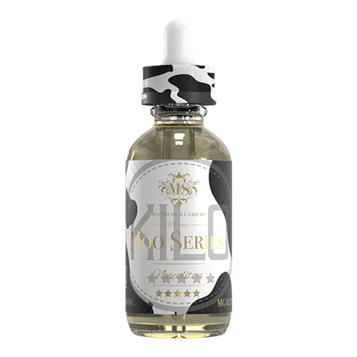Neapolitan Milk vape liquid by Kilo Moo Series - 50ml Short Fill - eJuice