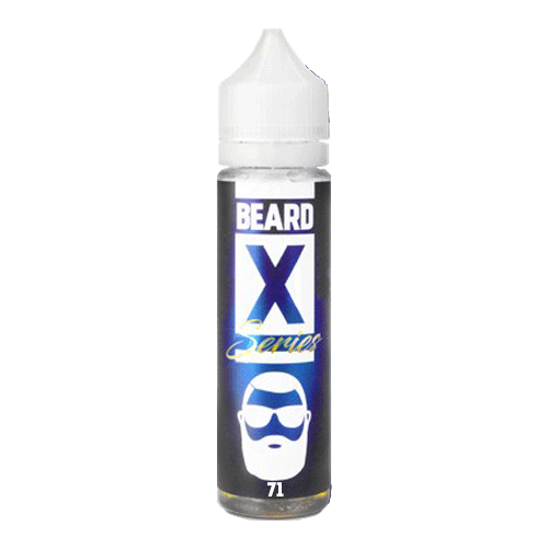 No. 71 vape liquid by Beard Series X - 50ml Short Fill - eJuice