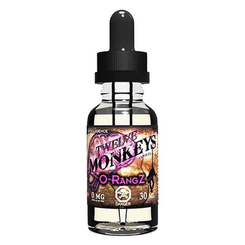 O-Rangz vape liquid by Twelve Monkeys - 30ml, 3 x 10ml - eJuice