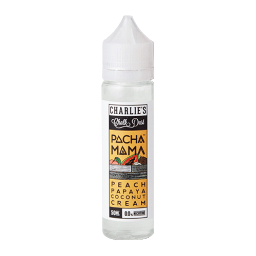 Peach Papaya Coconut Cream vape liquid by Pacha Mama - 50ml Short Fill - eJuice