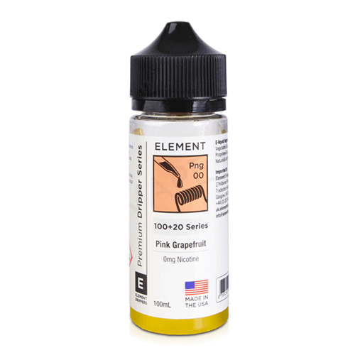 Pink Grapefruit (Png) vape liquid by Element E-liquids - 100ml Short Fill - eJuice