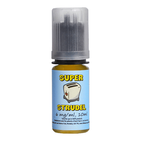 Strawberry vape liquid by Super Strudel - 10ml - eJuice