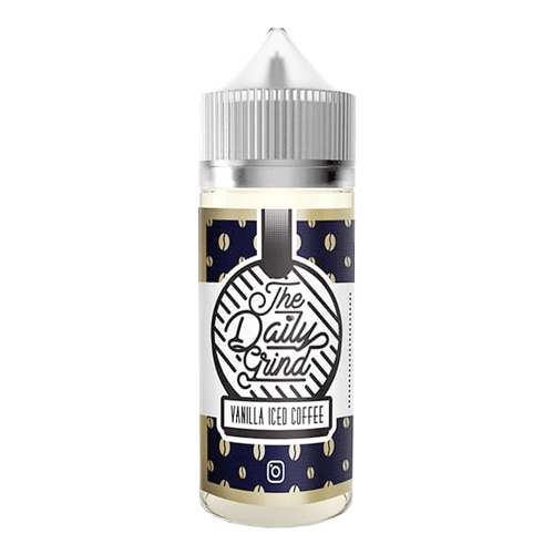 Vanilla Iced Coffee vape liquid by The Daily Grind - 100ml Short Fill