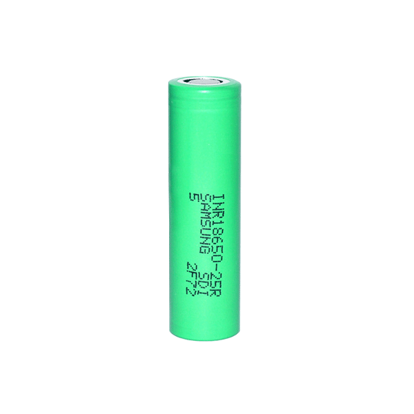 SAMSUNG 3.7V 2500mAh 18650 Rechargeable Li-ion Battery - VAPE PEOPLE - E-LIQUIDS AND E-CIGS WITH FREE SAME DAY UK DELIVERY FROM PUTNEY