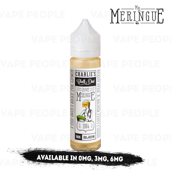 Aunt Meringue vape liquid by Mr Meringue - 50ml Short Fill - Best E Liquids