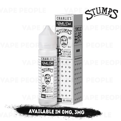 """B"" vape liquid by Stumps - 50ml Short Fill - eJuice"