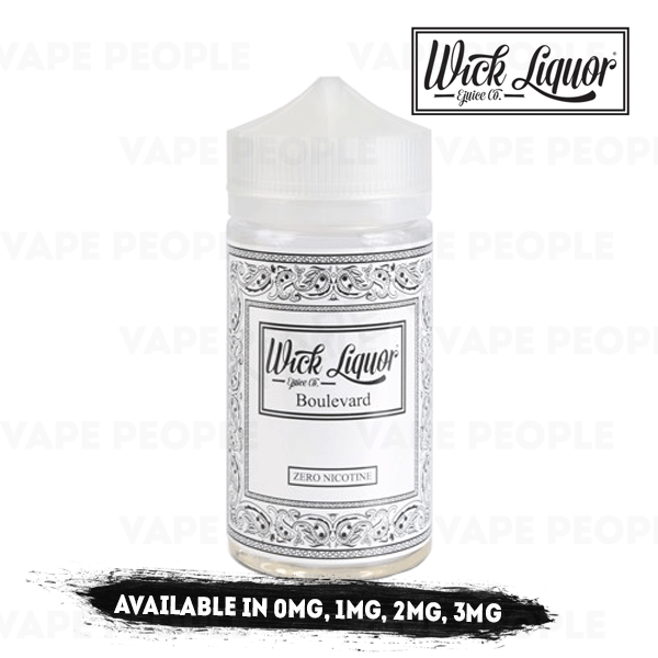 Boulevard Juggernaut e-liquid by Wick Liquor - 150ml Short Fill - Best E Liquids