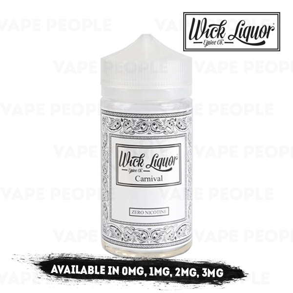 Carnival Juggernaut-liquid by Wick Liquor - 150ml Short Fill - Best E Liquids