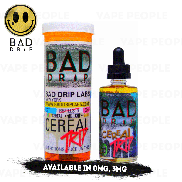 Cereal Trip vape liquid by Bad Drip - 50ml Short Fill - Best E Liquids