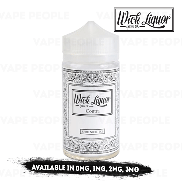 Contra Juggernaut e-liquid by Wick Liquor - 150ml Short Fill - Best E Liquids
