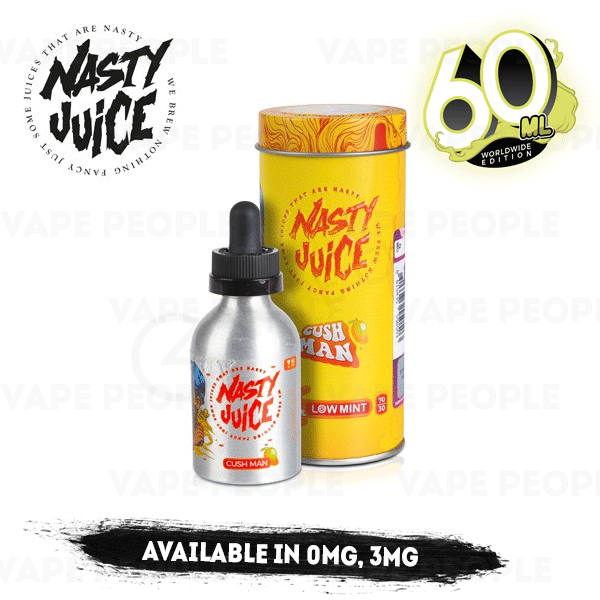 Cush Man vape liquid by Nasty Juice - 50ml Short Fill - Buy UK