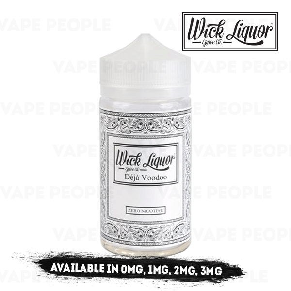 Deja Voodoo Juggernaut vape liquid by Wick Liquor - 150ml Short Fill - Buy UK