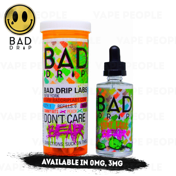 Don't Care Bear e-liquid by Bad Drip - 50ml Short Fill