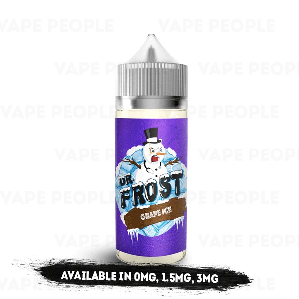 Grape Ice e-liquid by Dr Frost - 100ml Short Fill - Best E Liquids