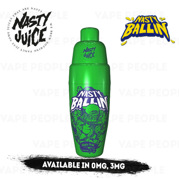 Hippie Trail e-liquid by Nasty Ballin - 50ml Short Fill