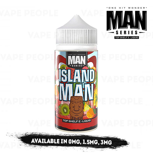 Island Man vape liquid by One Hit Wonder - 100ml Short Fill - Buy UK