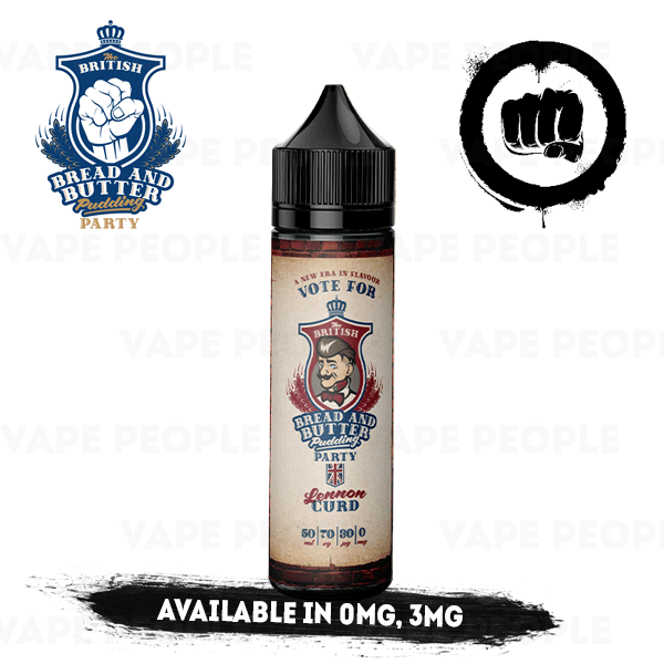 Lennon Curd e-liquid by BBBPP - 50ml Short Fill - Best E Liquids