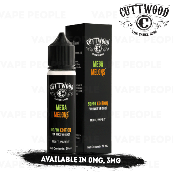 Mega Melons e-liquid by Cuttwood - 50ml Short Fill - Best E Liquids