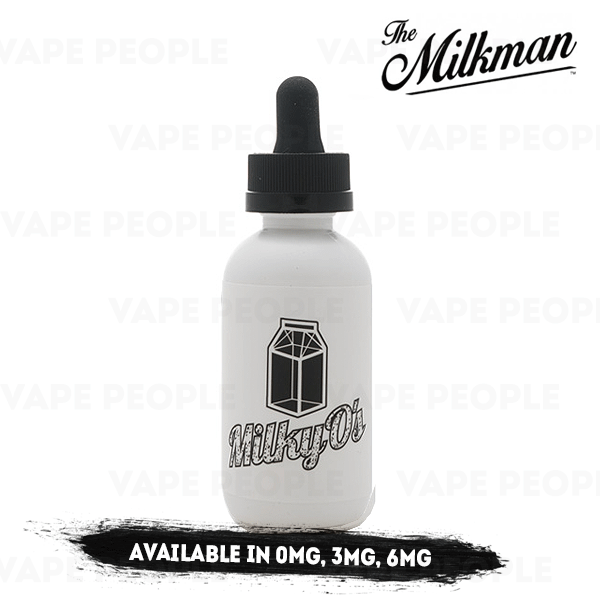 Milky O's vape liquid by The Milkman - 50ml Short Fill - Best E Liquids