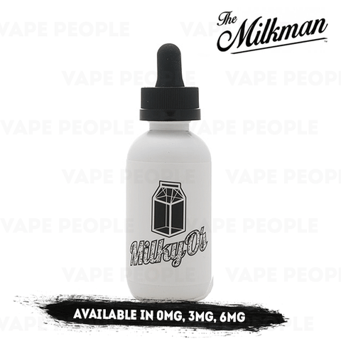 Milky O's vape liquid by The Milkman - 50ml Short Fill - eJuice