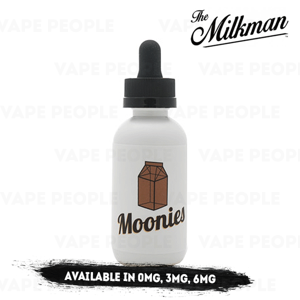 Moonies vape liquid by The Milkman - 50ml Short Fill - Best E Liquids