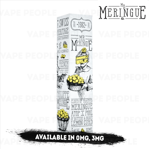 Lemon Pie vape liquid by Mr Meringue - 50ml Short Fill - Best E Liquids