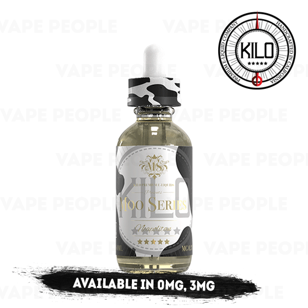 Neapolitan Milk e-liquid by Kilo Moo Series - 50ml Short Fill - Best E Liquids