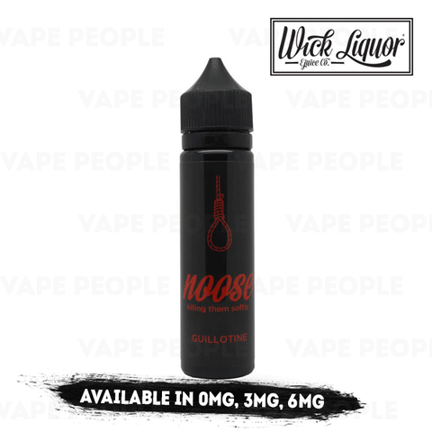 Noose - Guillotine vape liquid by Wick Liquor - 50ml Short Fill - eJuice