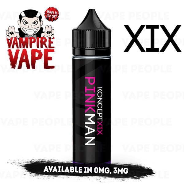 Pinkman e-liquid by KonceptXIX - 50ml Short Fill - Best E Liquids