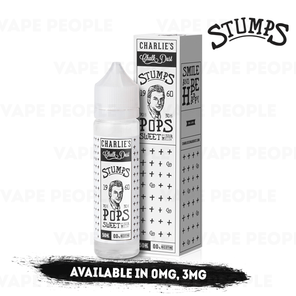 Pops vape liquid by Stumps - 50ml Short Fill - Best E Liquids