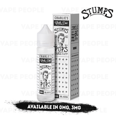 Pops vape liquid by Stumps - 50ml Short Fill - eJuice