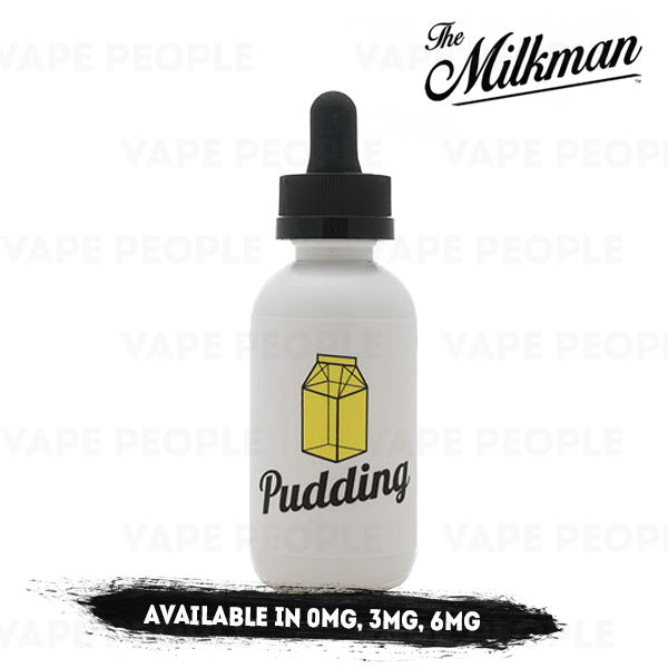 Pudding vape liquid by The Milkman - 50ml Short Fill - Best E Liquids