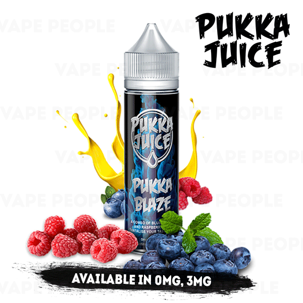 Pukka Blaze e-liquid by Pukka Juice - 50ml Short Fill - Best E Liquids