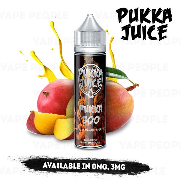Pukka Boo e-liquid by Pukka Juice - 50ml Short Fill - Best E Liquids