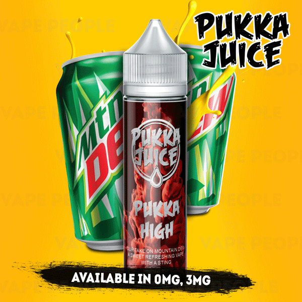 Pukka High e-liquid by Pukka Juice - 50ml Short Fill - Best E Liquids