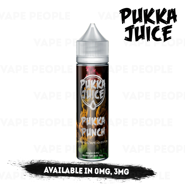Pukka Punch e-liquid by Pukka Juice - 50ml Short Fill - Best E Liquids