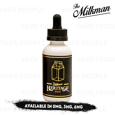Red vape liquid by The Milkman Heritage - 50ml Short Fill - eJuice