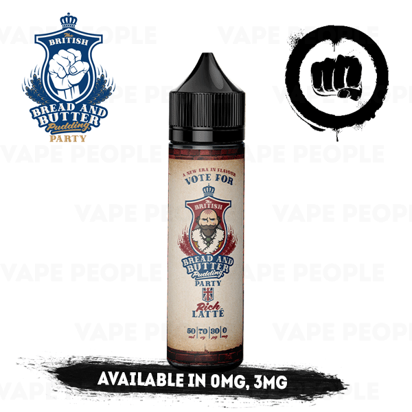 Rich Latte e-liquid by BBBPP - 50ml Short Fill - Best E Liquids
