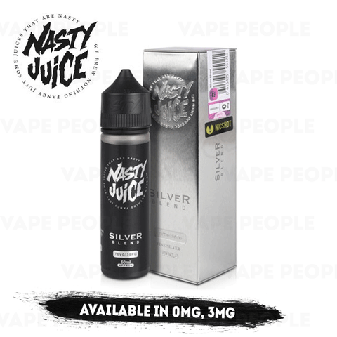 Silver Blend vape liquid by Nasty Juice Tobacco Series - 50ml Short Fill - eJuice