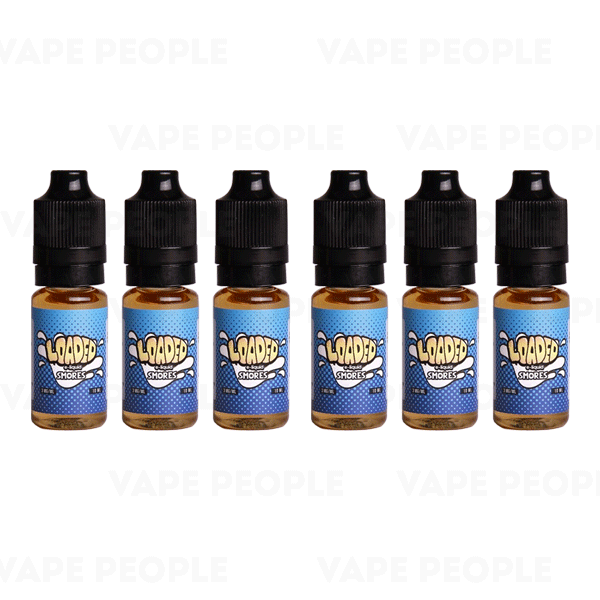 Smores e-liquid by Loaded - 10ml, 30ml, 60ml, 120ml - Best E Liquids