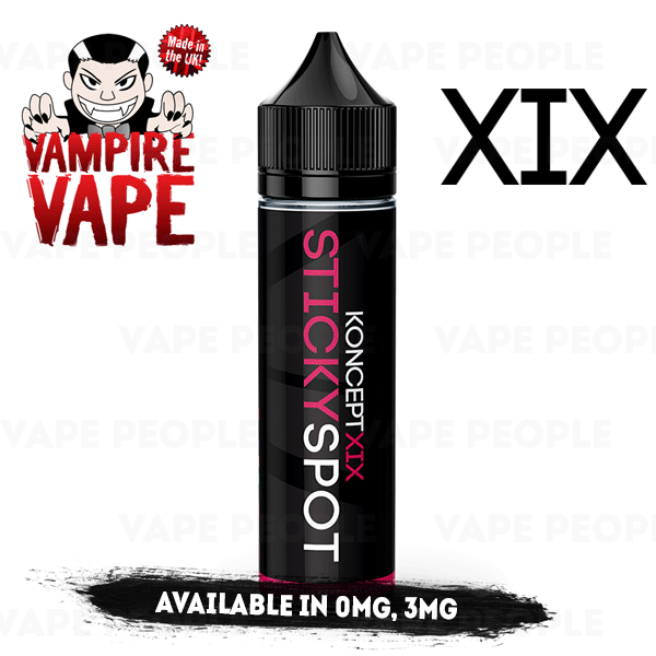 Sticky Spot e-liquid by KonceptXIX - 50ml Short Fill - Best E Liquids