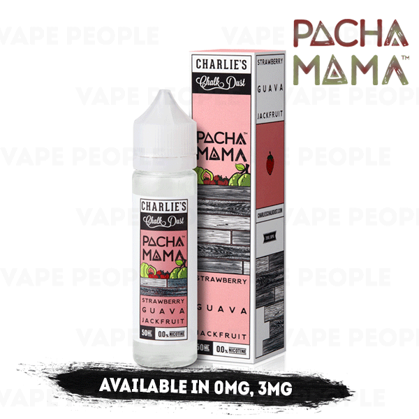 Strawberry Guava Jackfruit vape liquid by Pacha Mama - 50ml Short Fill - Best E Liquids