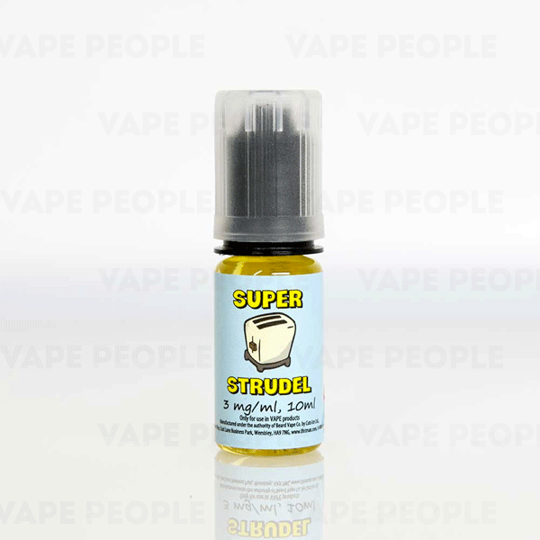 Strawberry e-liquid by Super Strudel - 10ml - Best E Liquids