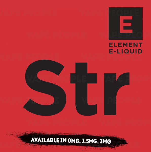 Strawberry Whip (Sw) vape liquid by Element E-liquids - 100ml Short Fill - Best E Liquids
