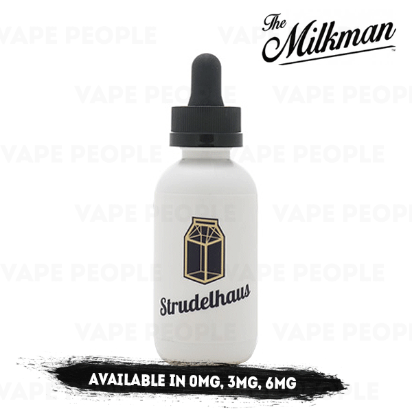 Strudelhaus vape liquid by The Milkman - 50ml Short Fill - Best E Liquids