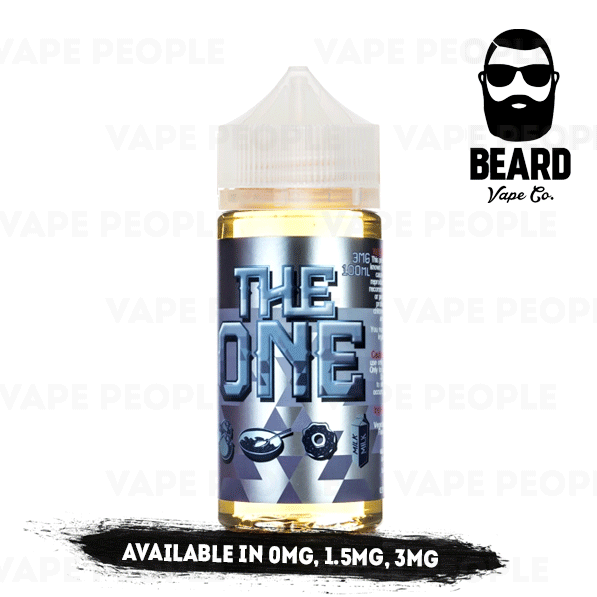 Frosted Donut Cereal Dipped in Blueberry Milk vape liquid by Beard Vape Co. - 100ml Short Fill - Best E Liquids