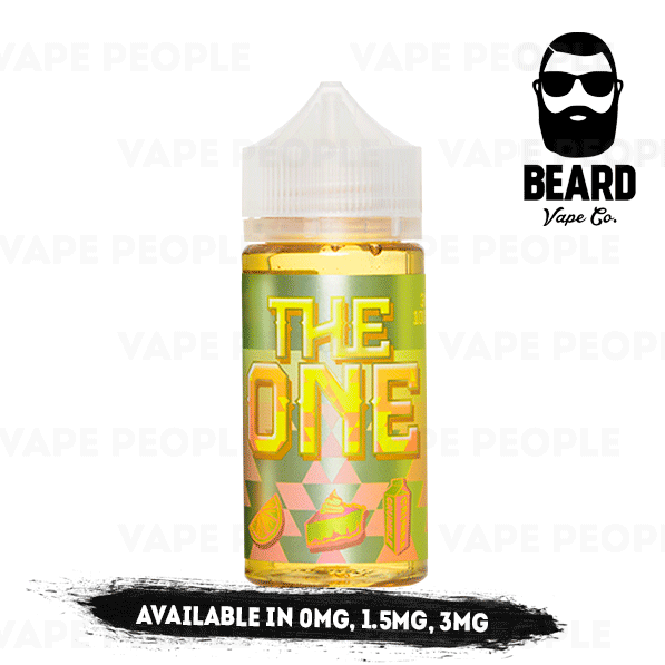 The One Lemon Crumble Tart vape liquid by Beard Vape Co. - 100ml Short Fill