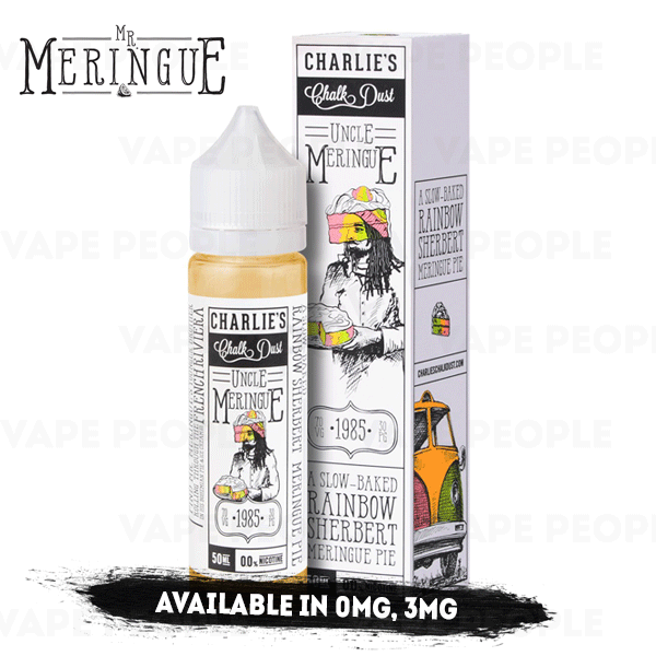 Uncle Meringue vape liquid by Mr Meringue - 50ml Short Fill - Best E Liquids