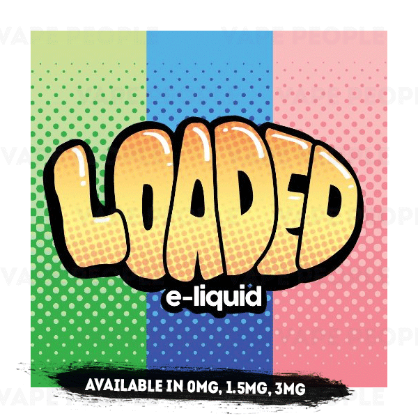 Cookie Butter vape liquid by Loaded - 100ml Short Fill - Buy UK