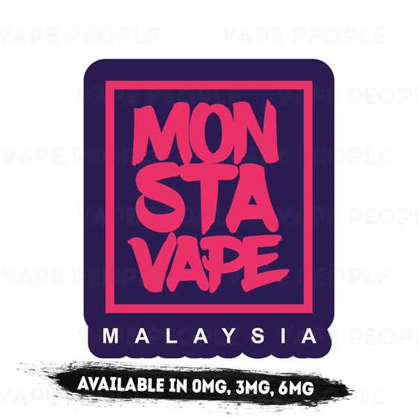 Zesty Grappy (No Ice) vape liquid by Monsta Vape - 50ml Short Fill - Best E Liquids